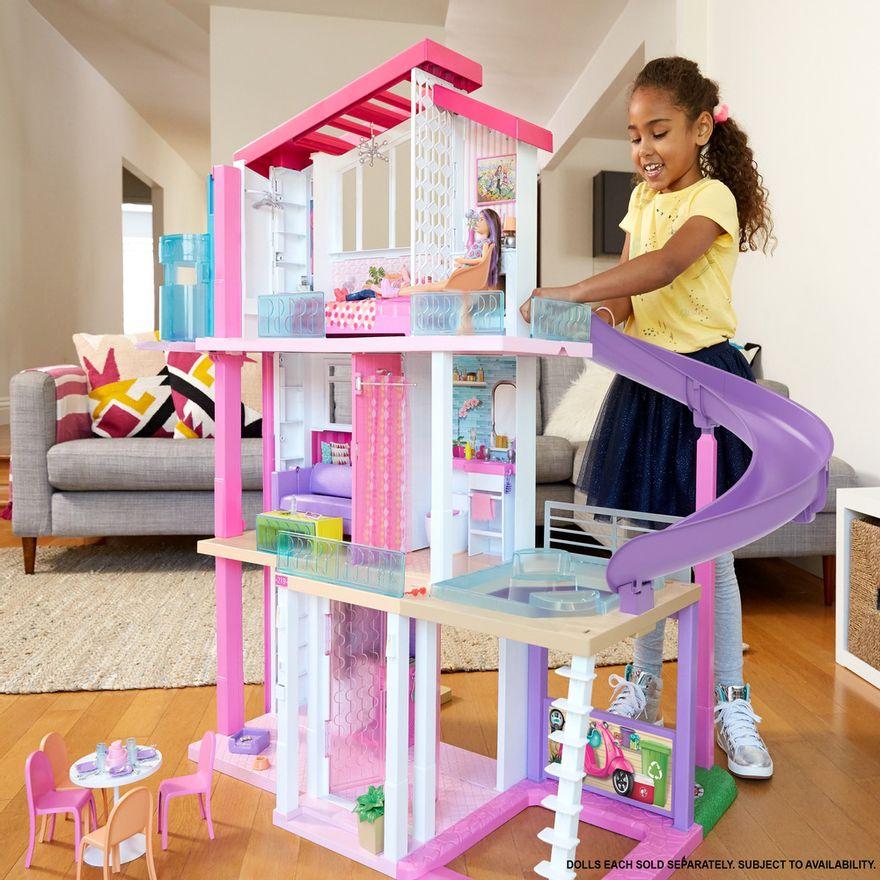 Playset-Barbie---125-Cm---Casa-dos-Sonhos-com-Elevador---Mattel-5
