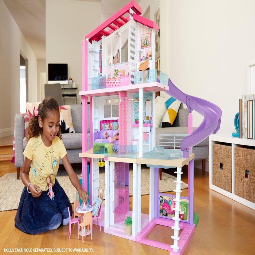 Playset-Barbie---125-Cm---Casa-dos-Sonhos-com-Elevador---Mattel-6
