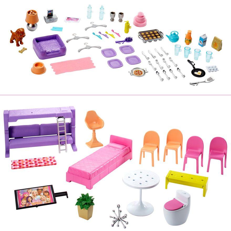 Playset-Barbie---125-Cm---Casa-dos-Sonhos-com-Elevador---Mattel-7