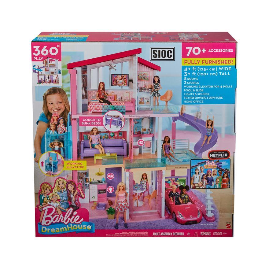 Playset-Barbie---125-Cm---Casa-dos-Sonhos-com-Elevador---Mattel-8