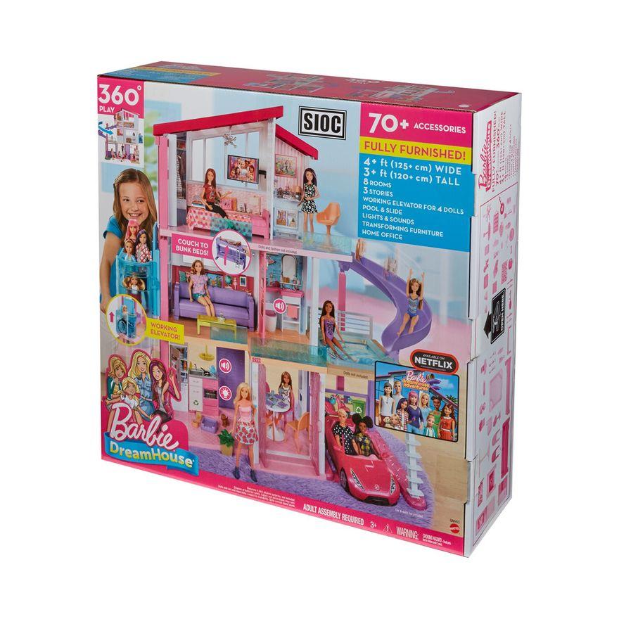 Playset-Barbie---125-Cm---Casa-dos-Sonhos-com-Elevador---Mattel-9