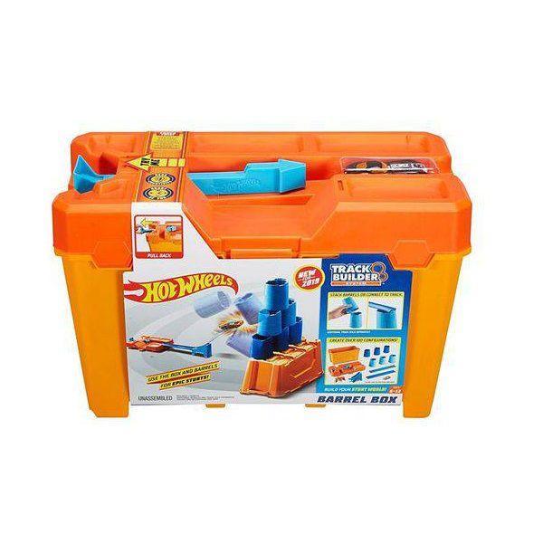 Hot Wheels TRACK Builder Caixa de Obstaculos Mattel FLK89 GCF91