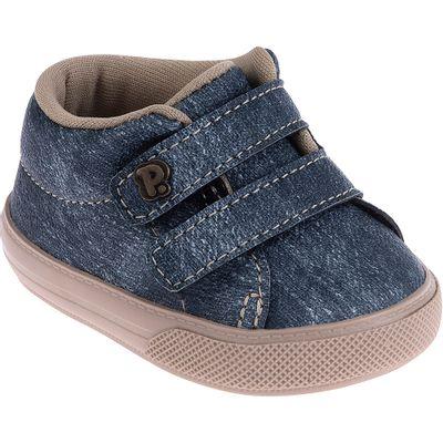 Tenis-Infantil---Baby-Meninos---Jeans-Azul---Pimpolho---1