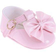 Sapatilha-Infantil---Baby-Meninas---Rosa-com-Laco---Pimpolho---1