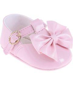 Sapatilha-Infantil---Baby-Meninas---Rosa-com-Laco---Pimpolho---3