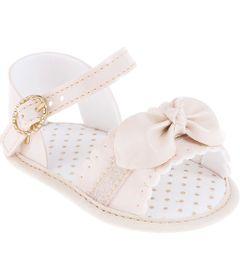 Sandalia-Infantil---Baby-Meninas---Rosa-com-Fivela-e-Laco---Pimpolho---2
