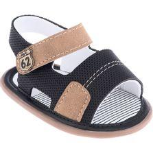 Sandalia-Infantil---Baby-Meninos---62-Marrom-e-Azul---Pimpolho---1