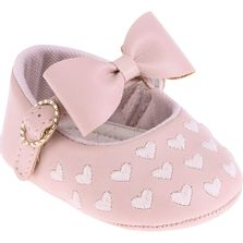 Sapatilha-Infantil---Baby-Meninas---Rosa-com-Laco-e-Coracoes---Pimpolho---1