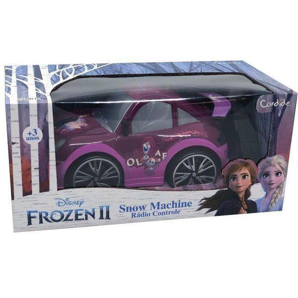 Carrinho Controle Remoto Frozen 2 SNOW Machine ANNA Candide 8352