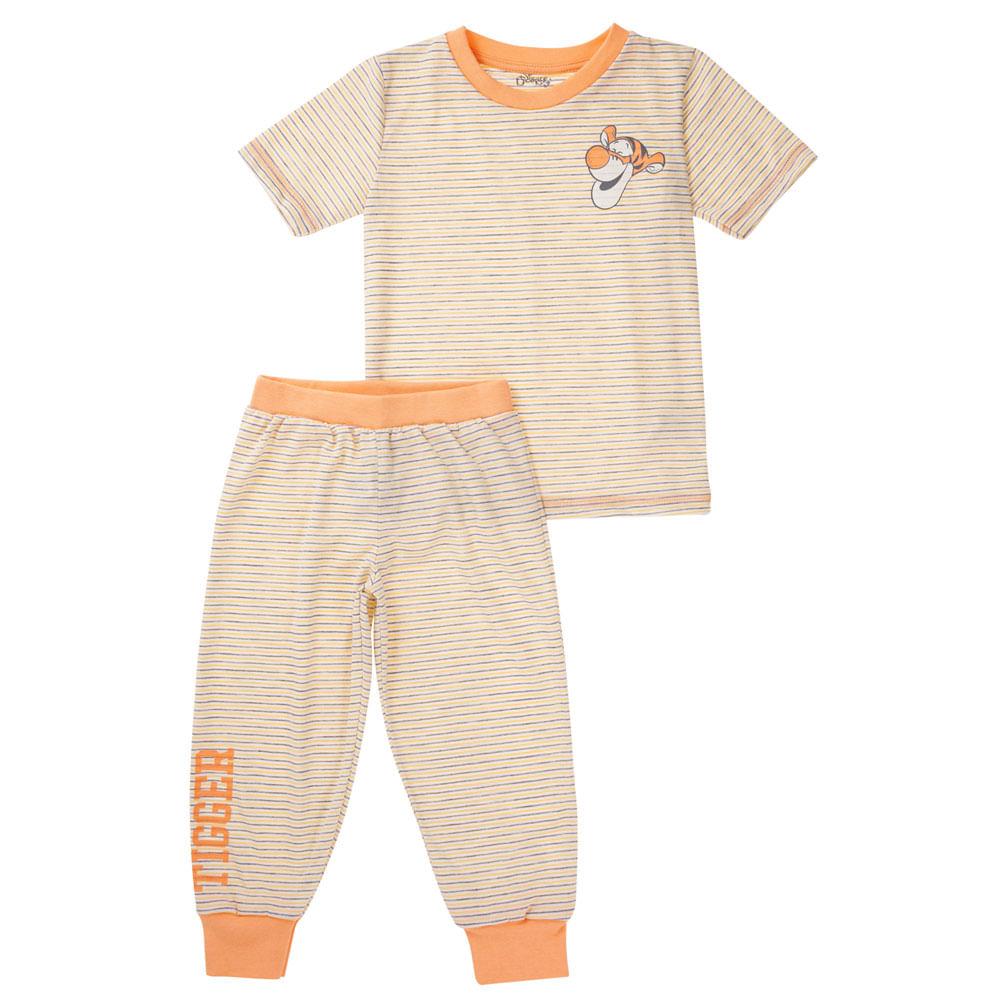 Quadrijama Infantil - 100% Algodão - Tigrão - Laranja - Disney