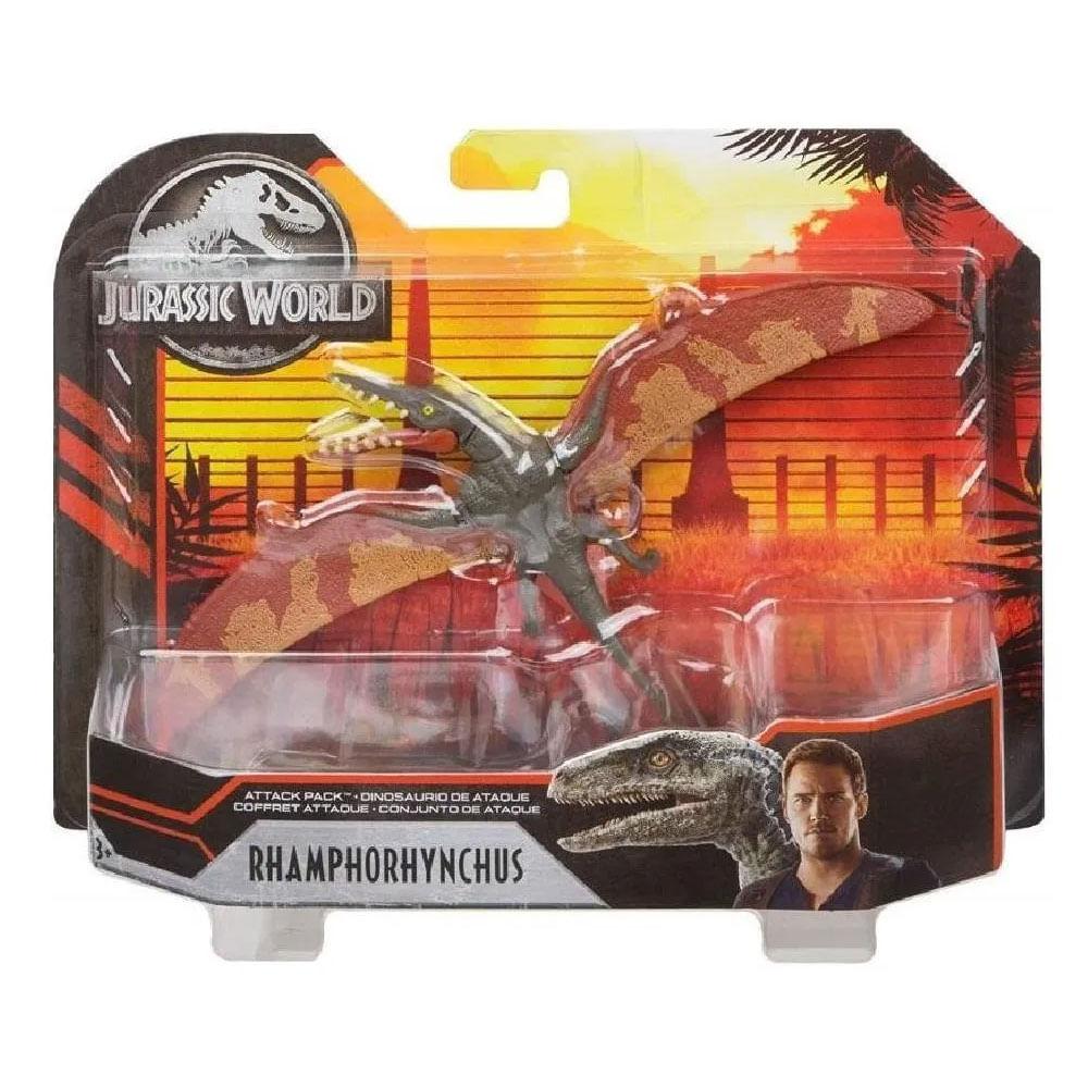 Figura Básica - Jurassic World 2 - Conjunto de Ataque - Rhamphorhynchus - Mattel