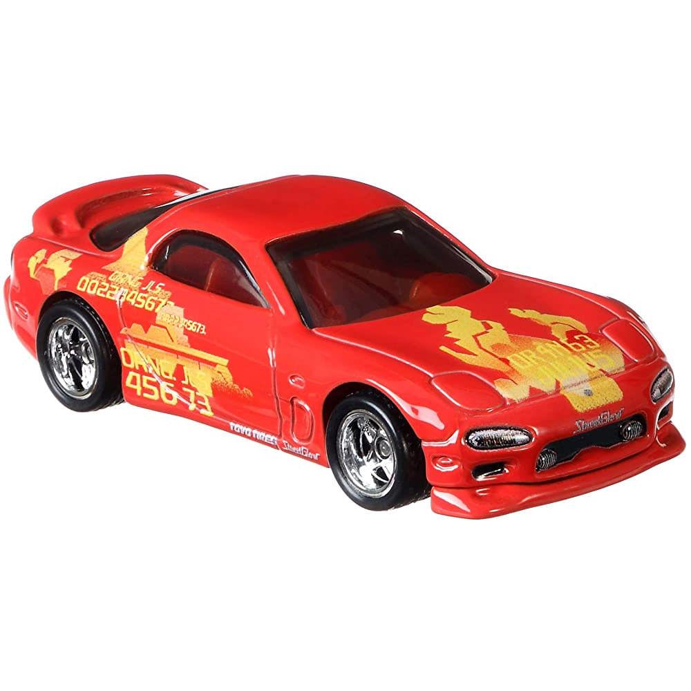 Veículo Hot Wheels - 1:64 - Fast & Furious - Mazda RX-7 - Laranja - Mattel