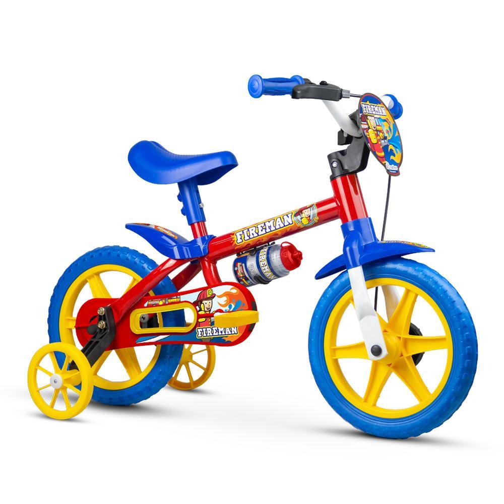 Bicicleta Infantil Aro 12 Fireman - Nathor