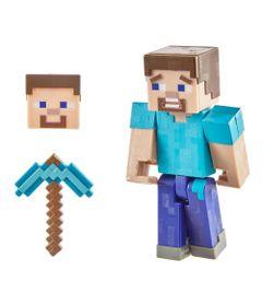 Figura-Articulada-e-Acessorios---Minecraft---Comic-Maker---Steve---Mattel_Frente