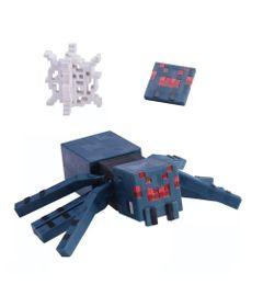 Figura-Articulada-e-Acessorios---Minecraft---Comic-Maker---Aranha-da-Caverna---Mattel_Frente