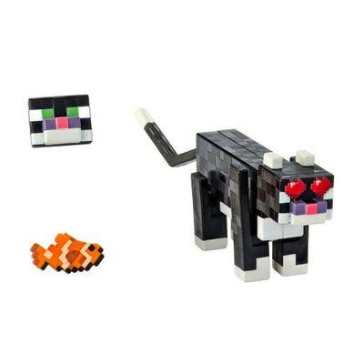 Figura-Articulada-e-Acessorios---Minecraft---Comic-Maker---Jaguatirica---Mattel_Frente