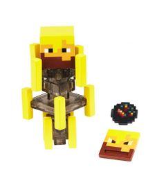 Figura-Articulada-e-Acessorios---Minecraft---Comic-Maker---Blaze---Mattel_Frente