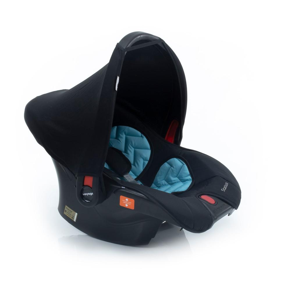 Bebê Conforto Status Voyage Azul e Preto