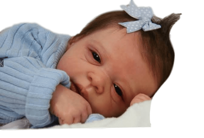 Boneco bebê Reborn Michelle 2 molde importado autentico