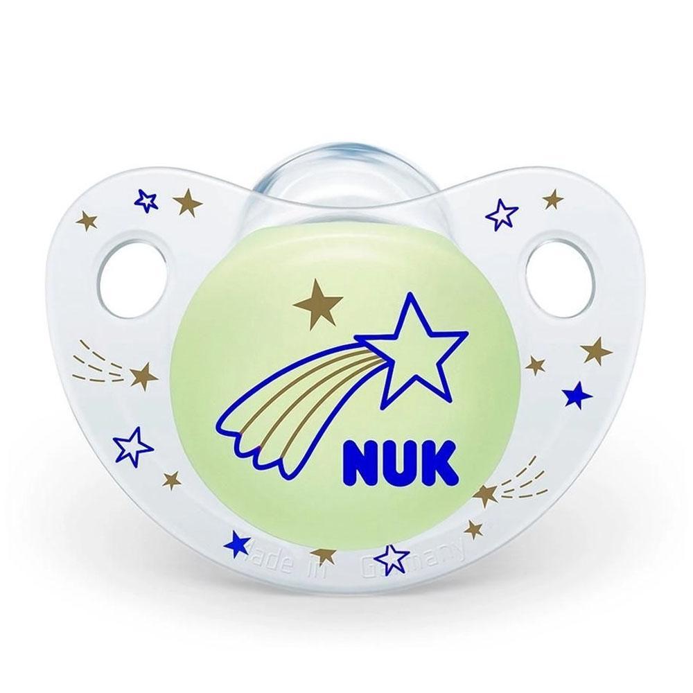 Chupeta NUK Night & Day Tam: 1 Boys Estrela Azul PA7315-1B