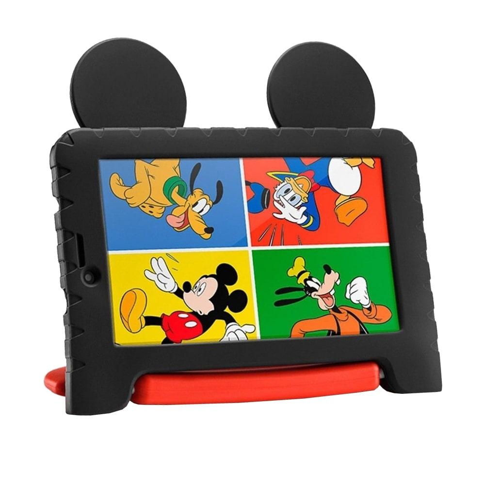 "Tablet Infantil Multilaser NB327 Disney Mickey Mouse Plus 7"" Wi-Fi 16GB Vermelho/Preto"