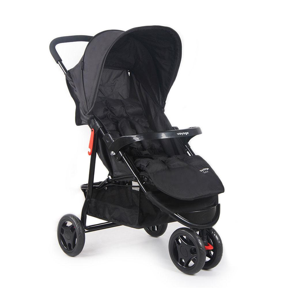 Carrinho de Bebê Voyage Delta Preto - IMP01474