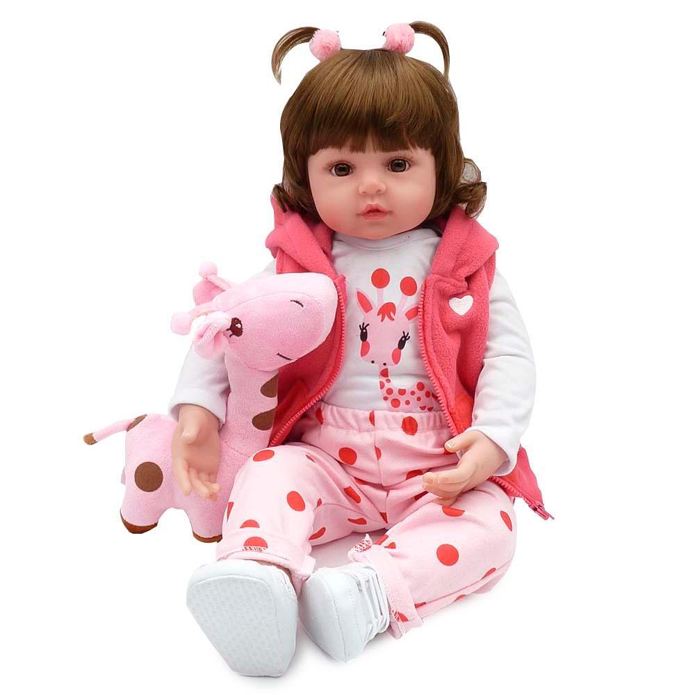Boneca Bebe Reborn Laura Baby Valentina