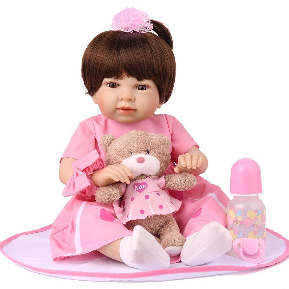 Boneca Bebe Reborn Laura Baby Vivi