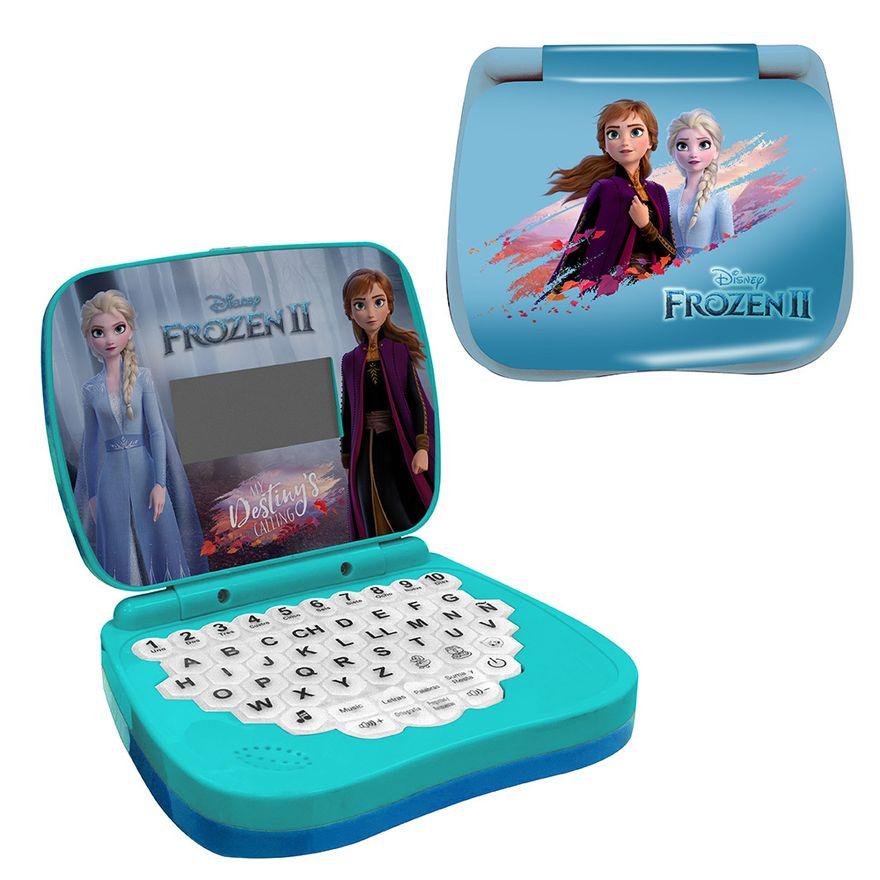 Laptop bilíngue de atividades Frozen - Candide