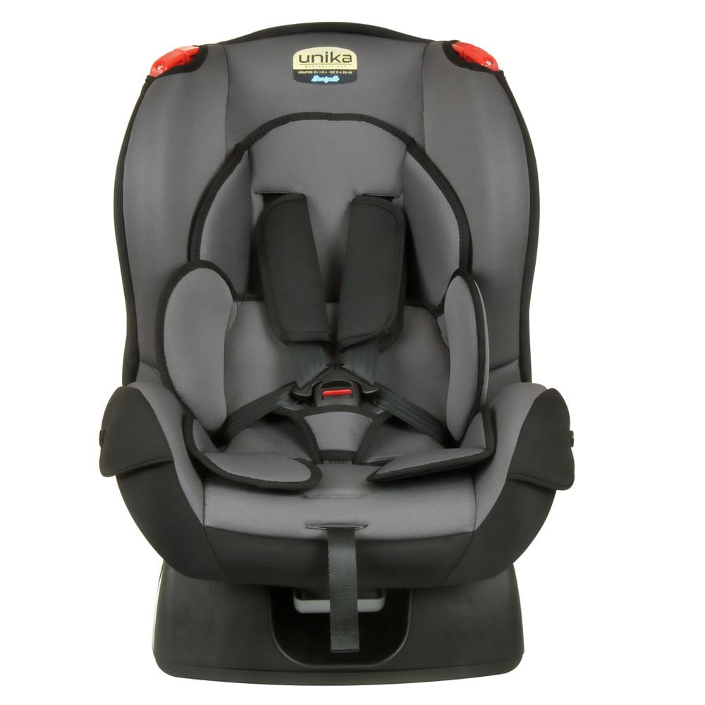 Cadeira para Auto – Burigotto – Unika - De 0 a 25 Kg - Cinza