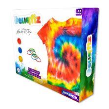 Conjunto-de-Artes---Pinturas-Tie-Die-com-Camiseta-G-Infantil-e-Cores---Eu-Que-Fiz---I9-Brinquedos-0
