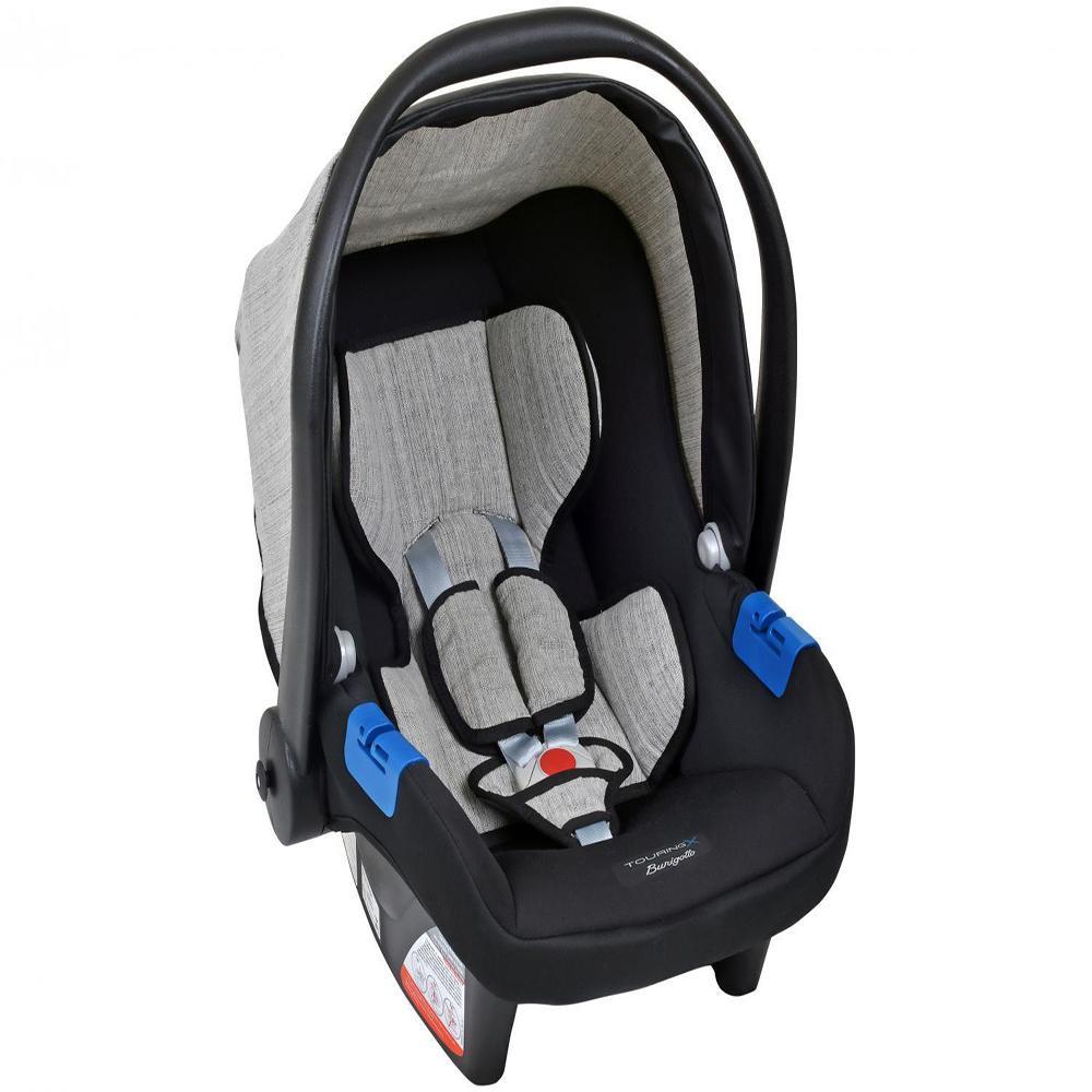Cadeira para Automóvel Burigotto Touring SE 3030 - 0 a 13 Kg - Cinza