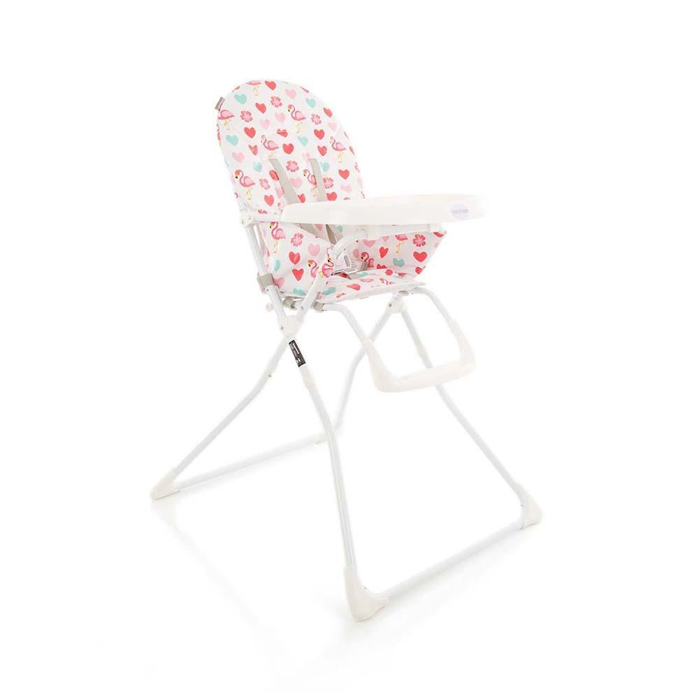 Cadeira de Refeição Kitut Voyage Rosa Flamingo