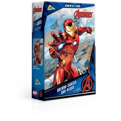 Quebra-Cabeca---200-pecas---Disney---Marvel---Os-Vingadores---Homem-de-Ferro---Toyster-0