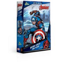 Quebra-Cabeca---200-Pecas---Disney---Marvel---Os-vingadores---Capitao-America---Toyster-0
