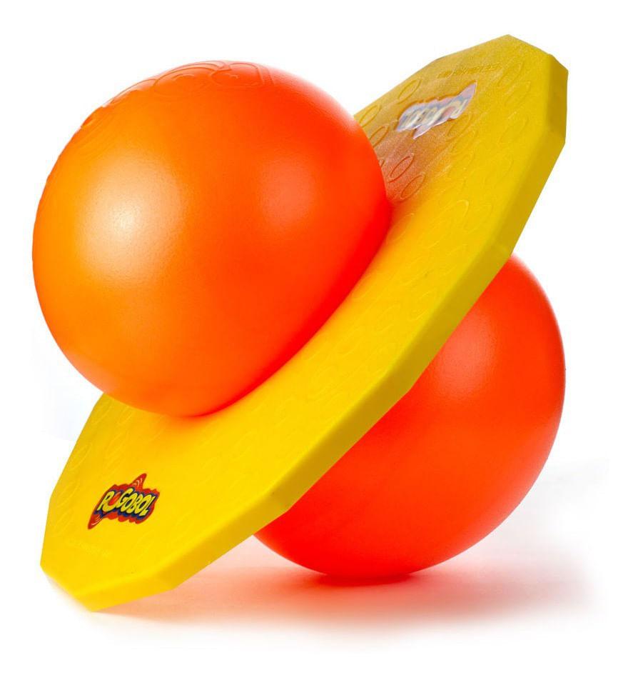 Brinquedo Pogobol - Amarelo e Laranja - Original Estrela
