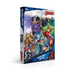 Quebra-cabeca---100-pecas---Disney---Marvel---Os-Vingadores---Toyster-0