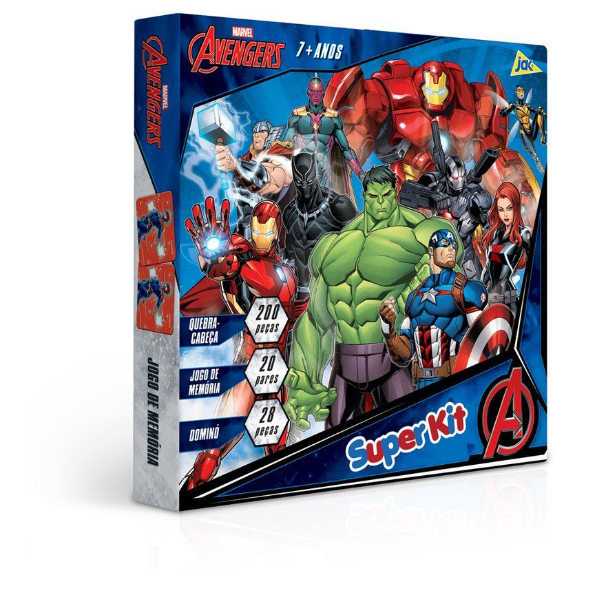 Conjunto-de-Jogos---Quebra-Cabeca-Jogo-da-Memoria-e-Domino---Disney---Marvel---Avengers---Toyster--0