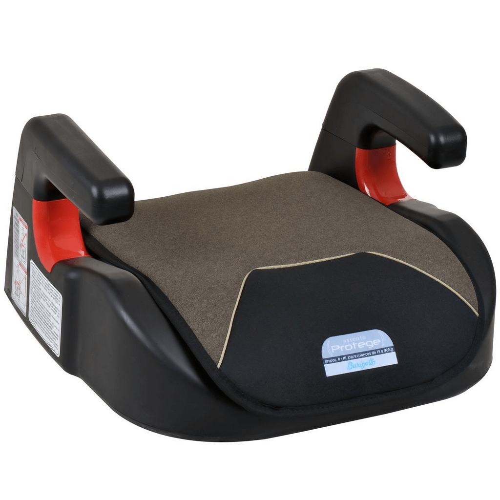 Cadeirinha para Carro Burigotto Assento Protege 15 a 36kg Mesclado Bege