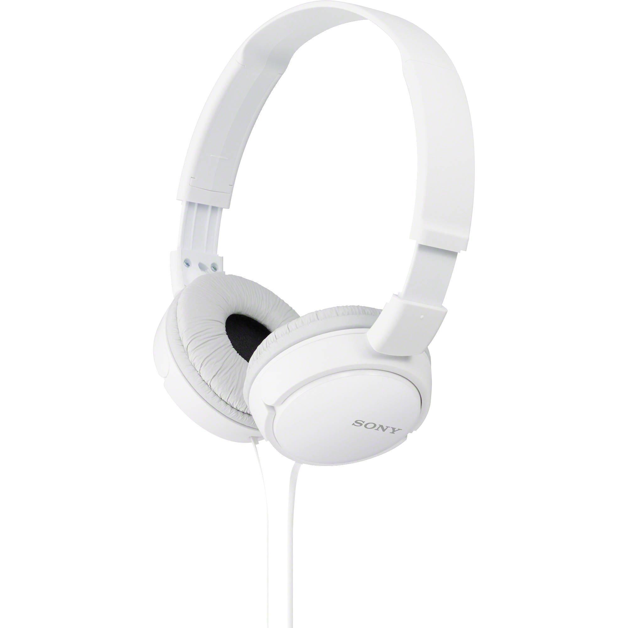 Fone de Ouvido Dobrável MDR-ZX110 Branco SONY