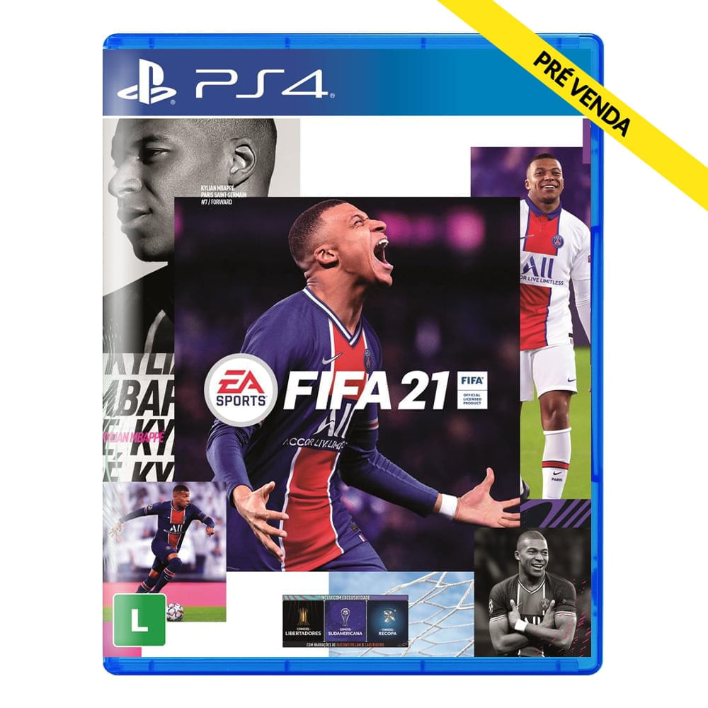 Jogo FIFA 21 - PS4