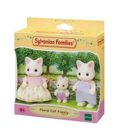 Sylvanian-Families---Familia-dos-Gatos-Primavera---Epoch-0