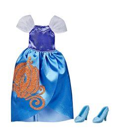 Acessorios-para-Bonecas---Roupinha-de-Boneca---Princesas-Disney---Cinderela---Hasbro-0