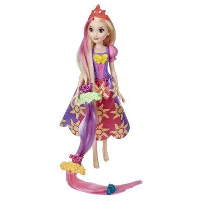 Boneca-Articulada---35-Cm---Princesas-Disney---Rapunzel---Cabelos-Divertidos---Hasbro-0
