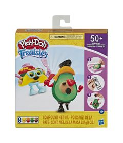 Massa-de-Modelar---Play-Doh---Treatsies---Guloseimas-2-Mini-Lanches---Verde---Hasbro-0