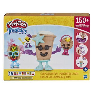 Massa-de-Modelar---Play-Doh---Guloseimas-4-Mini-Lanches---Coffee-Break---Hasbro-0
