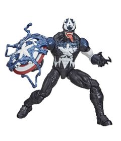 Figura-de-Acao---26-cm---Disney---Marvel-Legends-Series-Venomized---Capitao-America---Hasbro-0
