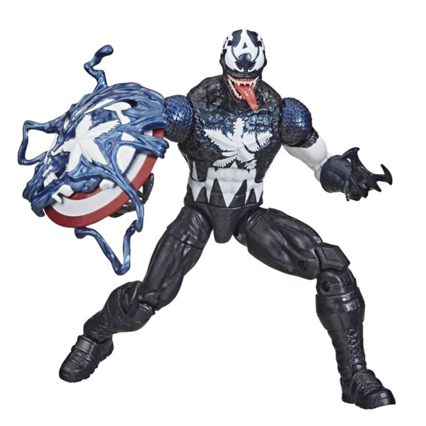 Figura-de-Acao---26-cm---Disney---Marvel-Legends-Series-Venomized---Capitao-America---Hasbro-0
