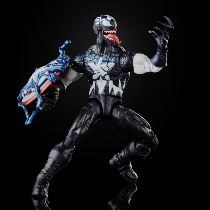 Figura-de-Acao---26-cm---Disney---Marvel-Legends-Series-Venomized---Capitao-America---Hasbro-4