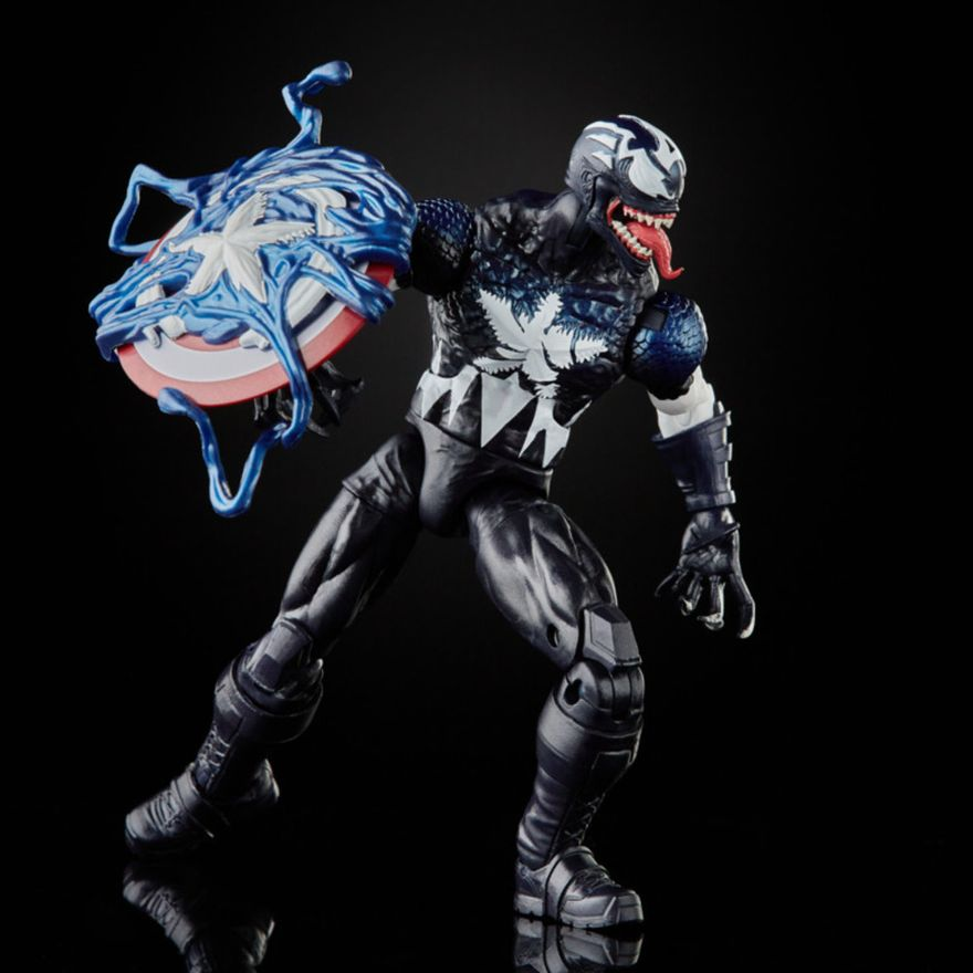 Figura-de-Acao---26-cm---Disney---Marvel-Legends-Series-Venomized---Capitao-America---Hasbro-5